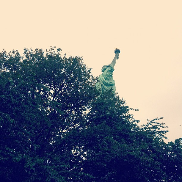 Sept 2011, Liberty Island. Spur of the moment photograph, possibly my lifetime favorite.