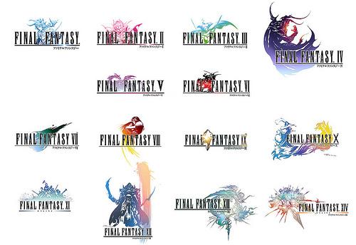 FINAL FANTASY: A Series History in Logos