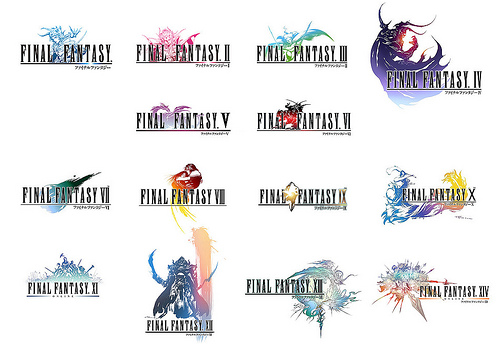 FINAL FANTASY: A Series History in Logos