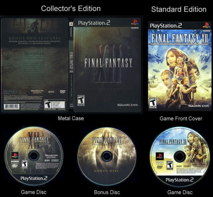 FINAL FANTASY XII Collector's Edition